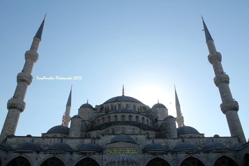 'The Blue Mosque' by Tina Amalia