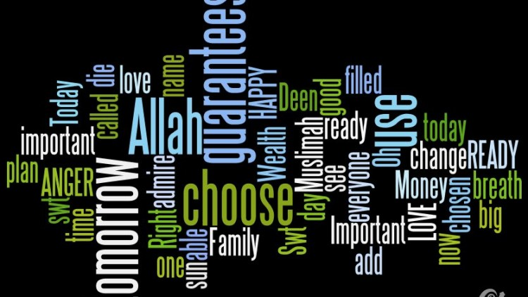 Oh Muslimah…have YOU thought about what is REALLY Important?