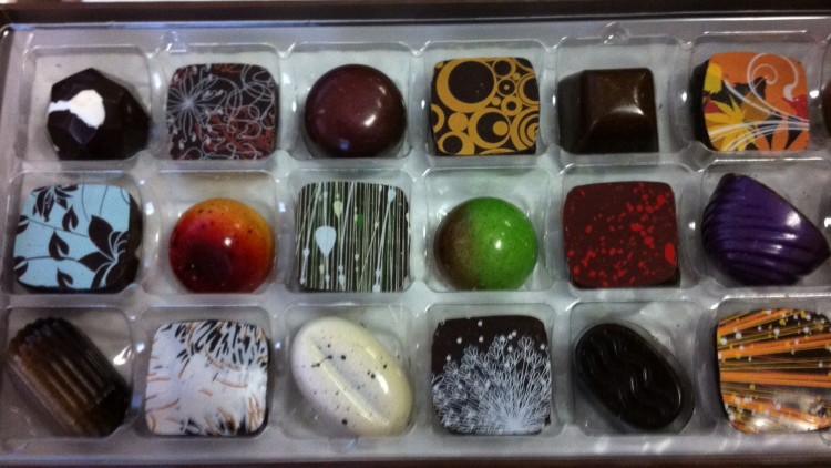 The Critical point of Chocolate (2)