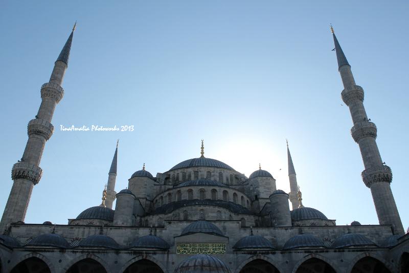 'The Blue Mosque' by Tina Amalia