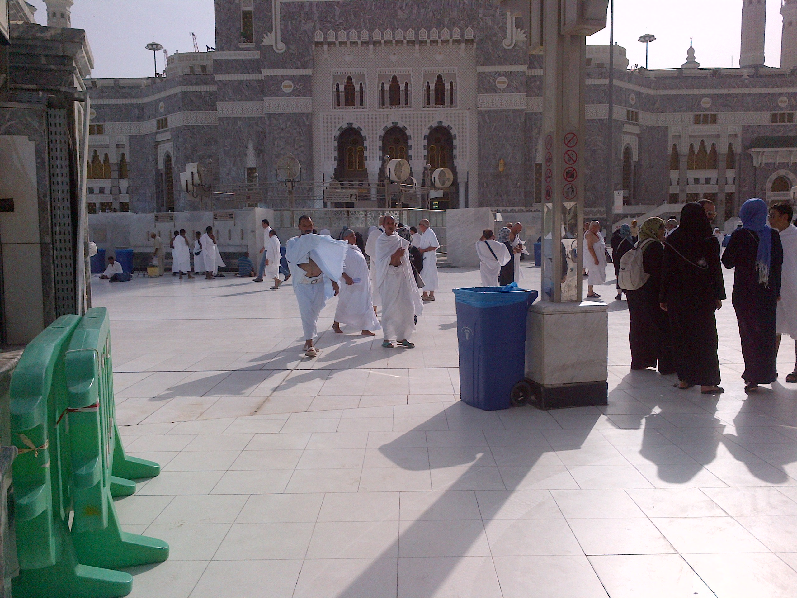 Outside Masjidil Haram, Mekkah