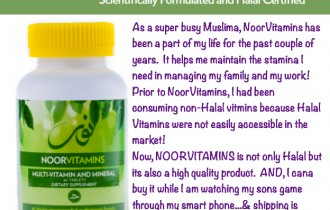 Did you know there is an alternative to Non-Halal Vitamins?