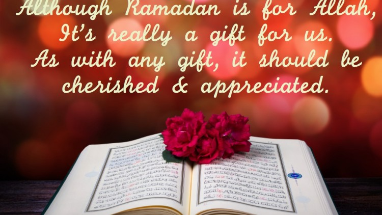 Ramadan is here.