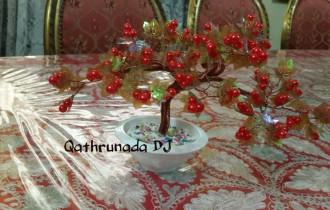 Handicraft: Beaded Bonsai Pearl Tree