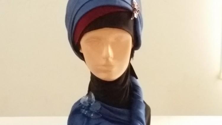 Elegant Hijab Style with Pashmina