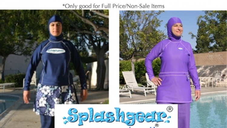 20% Discount on Muslim Swimwear