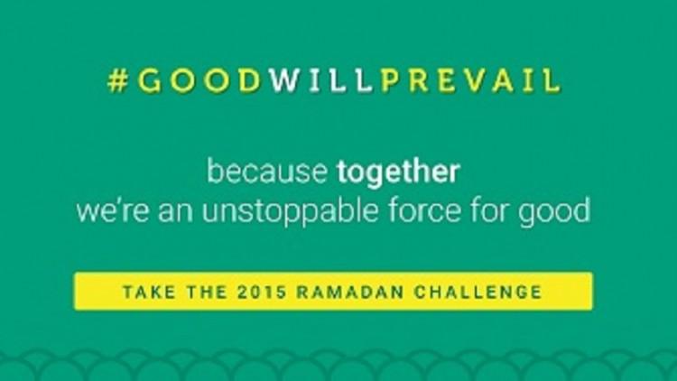 Take the Good Will Prevail Ramadan Challenge