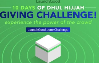 10 Day Giving Challenge in Dhul Hijjah!